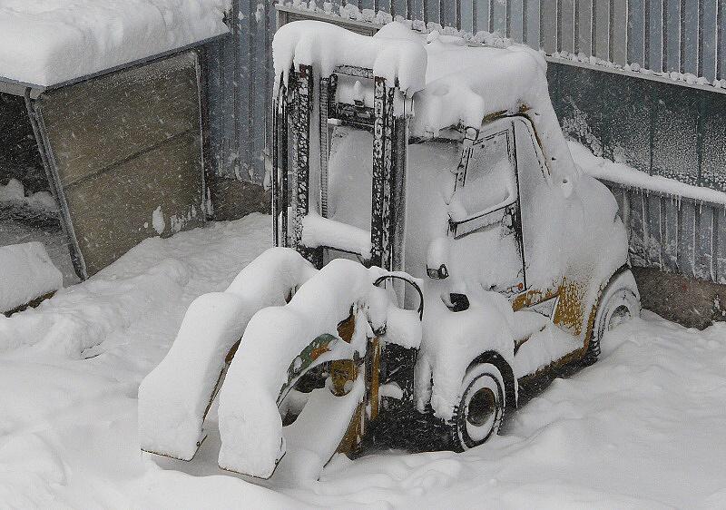 schneefall am 11.03.13 10.30 2
